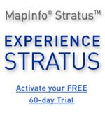 MapInfo Stratus - Experience Stratus - Activate your FREE 60 day Trial