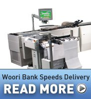 Woori Bank Speeds Delivery. Read more.