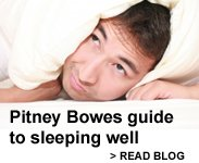 Pitney Bowes guide to sleeping well. Read blog.
