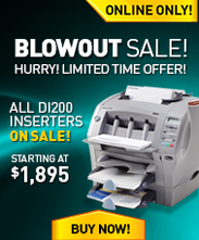 Blowout Sale! DI200 prices starting at $1,895!