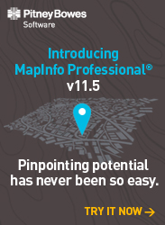 MapInfo Professional - Pinpointing potential has never been so easy